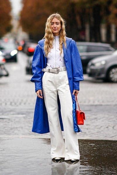 classic blue fashion trend